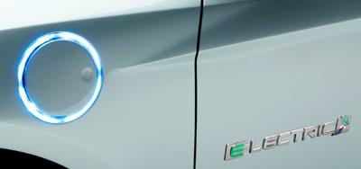 Ladeanschluss des Ford Focus Electric