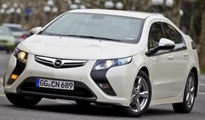 Der Opel Ampera als Vollhybrid mit Range Extender
