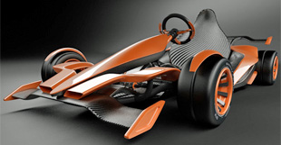 hybrid papamobil e go kart ebm papst mitsubishi. Black Bedroom Furniture Sets. Home Design Ideas