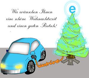 electrive.net wünscht fröhliche Weihnachten