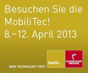 MobiliTec 2013, Deutsche Messe, AG