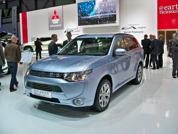 Mitsubishi Outlander Plug-in-Hybrid EV