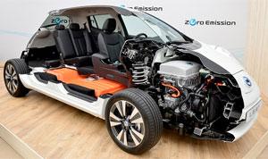 Nissan-Leaf-Querschnitt