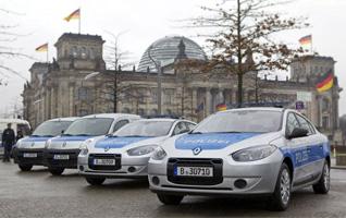 E-Fahrzeuge im Flottenversuch bei der Polizei in Berlin