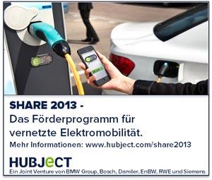 Hubject, share, Förderprogramm, Elektromobilität