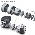 A3-etron-Antriebseinheit