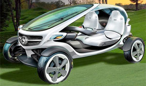 Mercedes-Vision-Golf-Cart