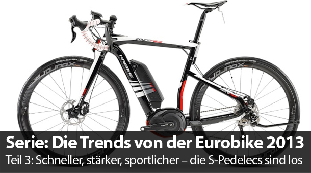 die trends von der eurobike die s pedelecs sind los. Black Bedroom Furniture Sets. Home Design Ideas