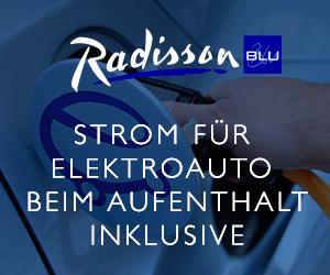 Radisson-Blu-Elektroauto-Banner