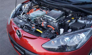 Mazda2-Wankel-Brennstoffzelle