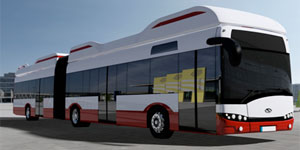 Solaris-Hochbahn-Elektrobus