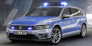 VW-Passat-GTE-Polizei