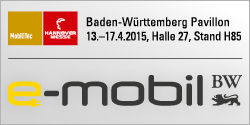 Baden-Württemberg Pavillon - Hannover Messe 2015