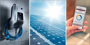 Für Sie auf der MobiliTec: Solarladen inklusive! Die AMTRON® Wallboxen von MENNEKES.