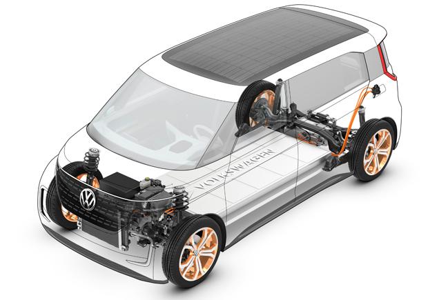 Volkswagen-BUDD-e-Antrieb
