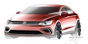 VW-Electric-Scetch