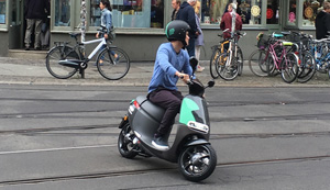 bosch startet elektro scooter sharing coup in berlin. Black Bedroom Furniture Sets. Home Design Ideas