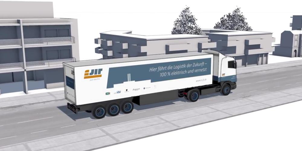 eJIT: Elektrifizierung der Logistikbranche im Video - electrive.net