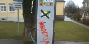 e-wald-ladestation-vandalismus-kurzschluss