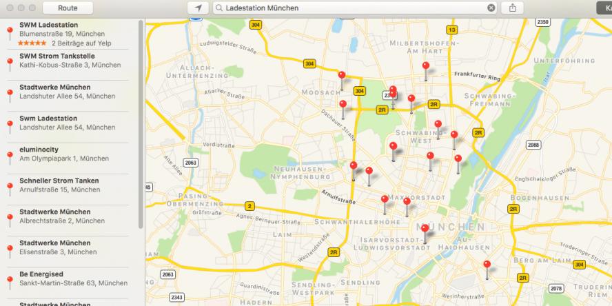 apple-maps-ladestation-anzeige-muenchen