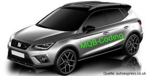 Seat Arona von autoexpress.co.uk 2 zu 1
