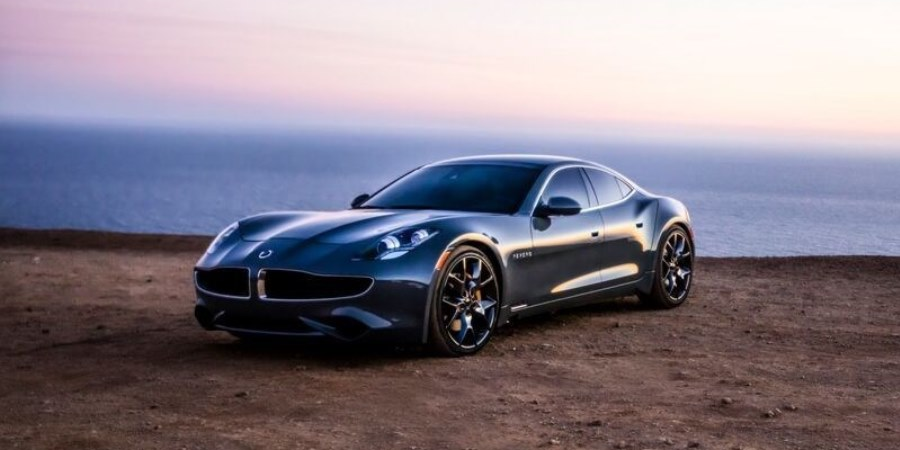 Luxury Electric Car Fisker