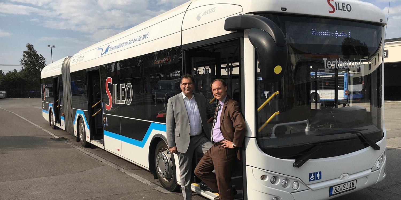 M 252 Nchen Testet Elektrobus Sileo S18 Electrive Net
