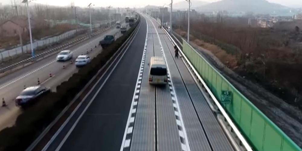 China plant Solar-Autobahn mit integrierter Ladelösung - electrive.net