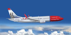 norwegian-flugzeug-symbolbild