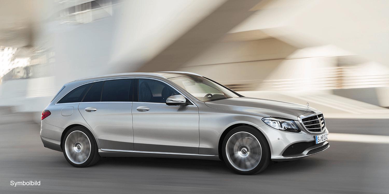 Mercedes Benz C Klasse 2018 Symbolbild 06