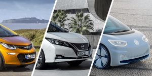 opel-ampera-e-nissan-leaf-volkswagen-id-collage