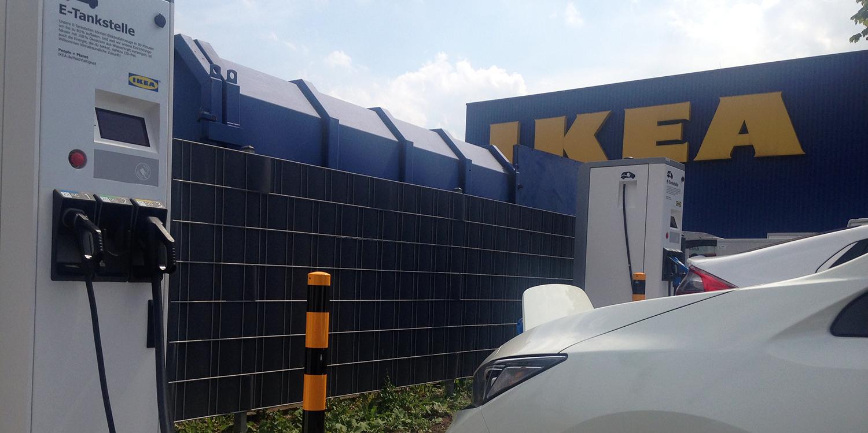 Ikea Schnelllader An Zweidrittel Der Deutschen Standorte