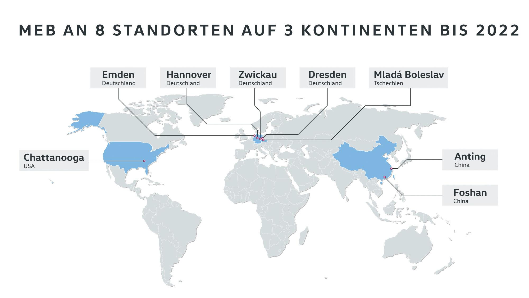 Standortentscheidung in Nordamerika: Volkswagen baut neue Genera