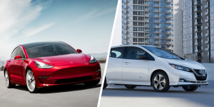 tesla-model-3-nissan-leaf-collage