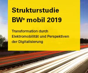 e-mobil BW Strukturstudie 2019
