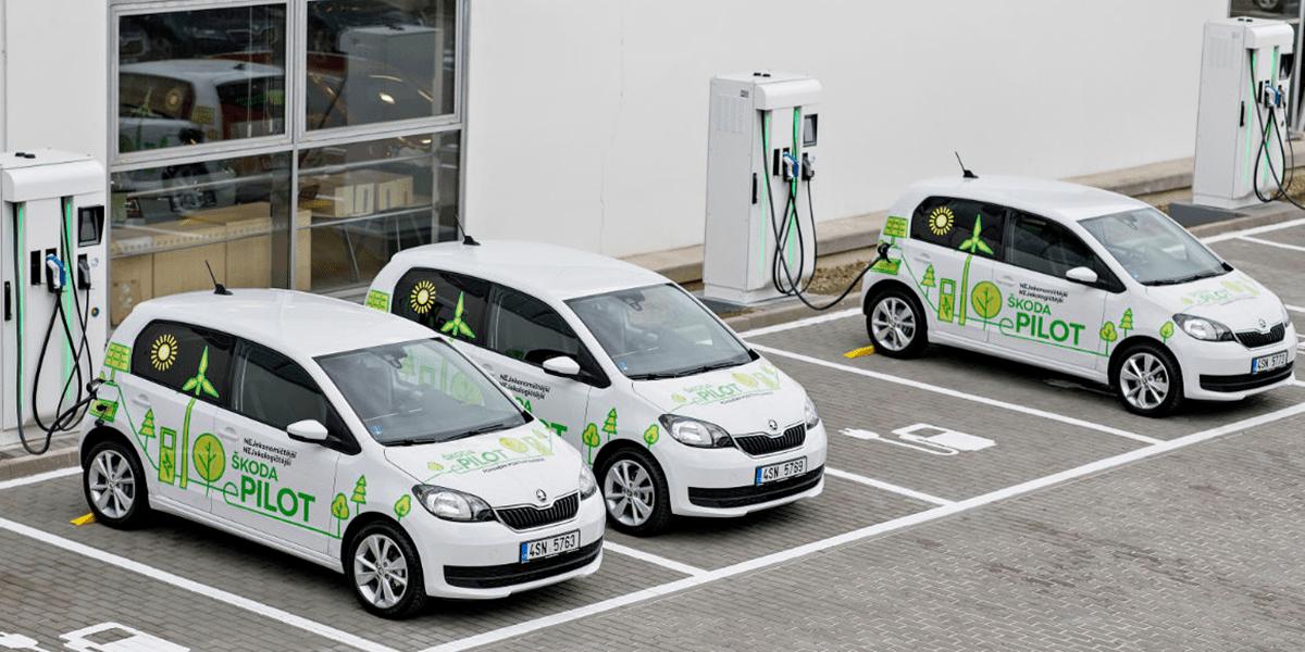 Skoda startet Pilotprojekt zu eMobilität in Tschechien