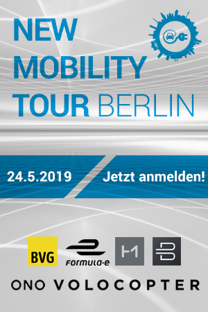 2. NEW MOBILITY TOUR BERLIN am 24. Mai 2019