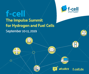 f-cell Stuttgart September 10-11, 2019