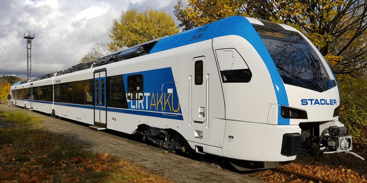 Stadler Flirt Akku - 55 Batteriezüge für Schleswig-Holstein (2019)
