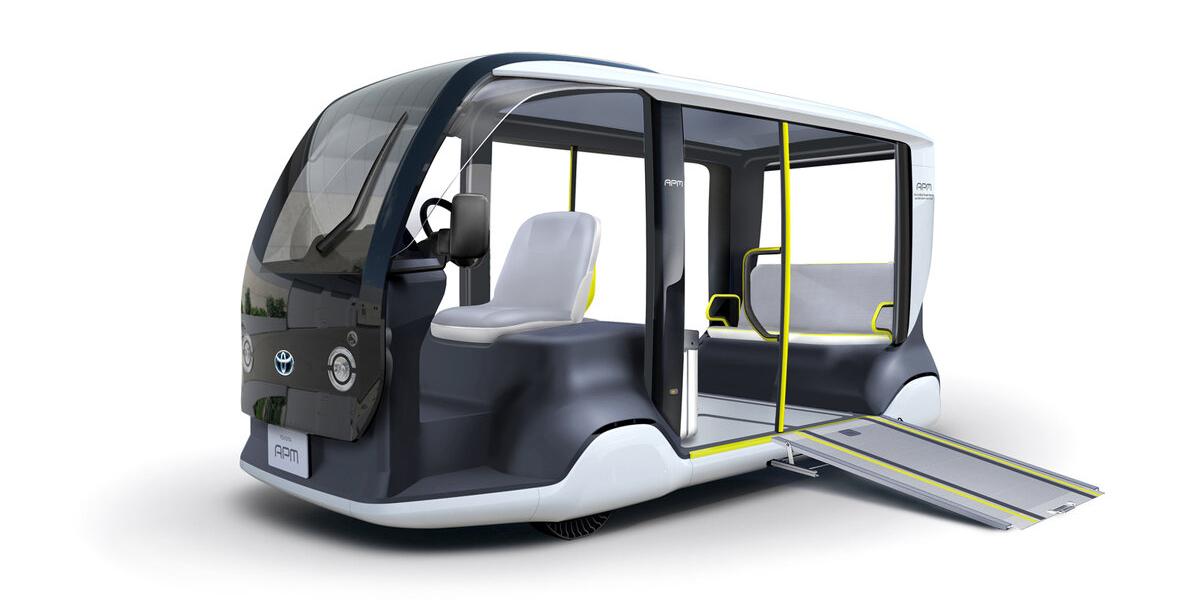 Toyota entwickelt Batterie-elektrischen Kleinbus für Olympia 2020