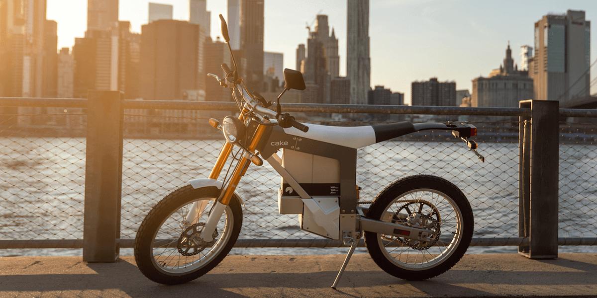 Cake startet Auslieferungen seines zweiten E-Motorrads