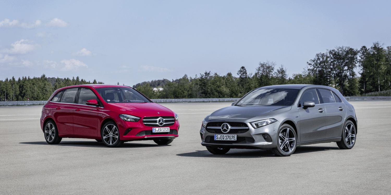 Mercedes bringt Plug-in-Hybride in die A- und B-Klasse