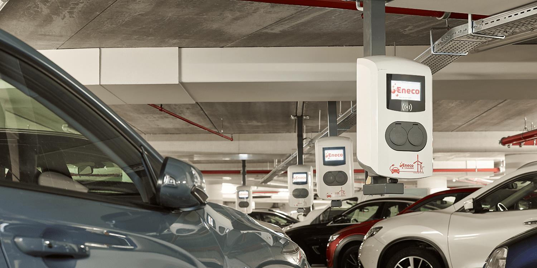 Eneco installiert mehr als 1.000 neue Ladestationen in Rotterdam