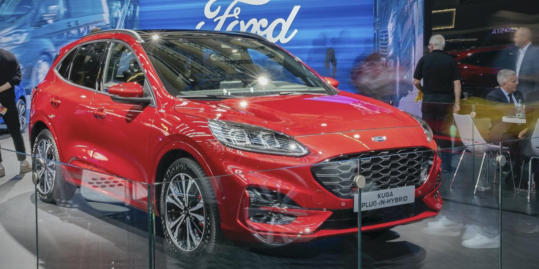 Ford setzt auf der IAA auf Hybride