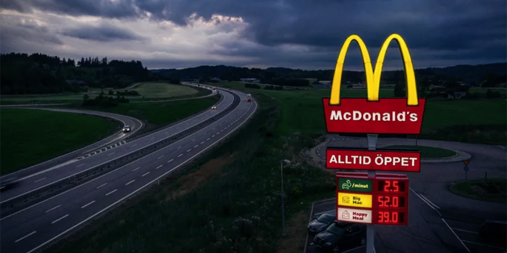 McCharge: McDonald's in Schweden zeigt Ladestrompreise an - electrive.net