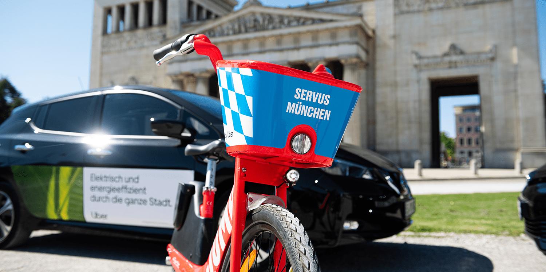 Uber bringt Bikesharing-Service Jump nach München - electrive.net