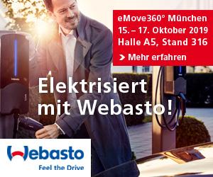 Webasto auf der eMove360