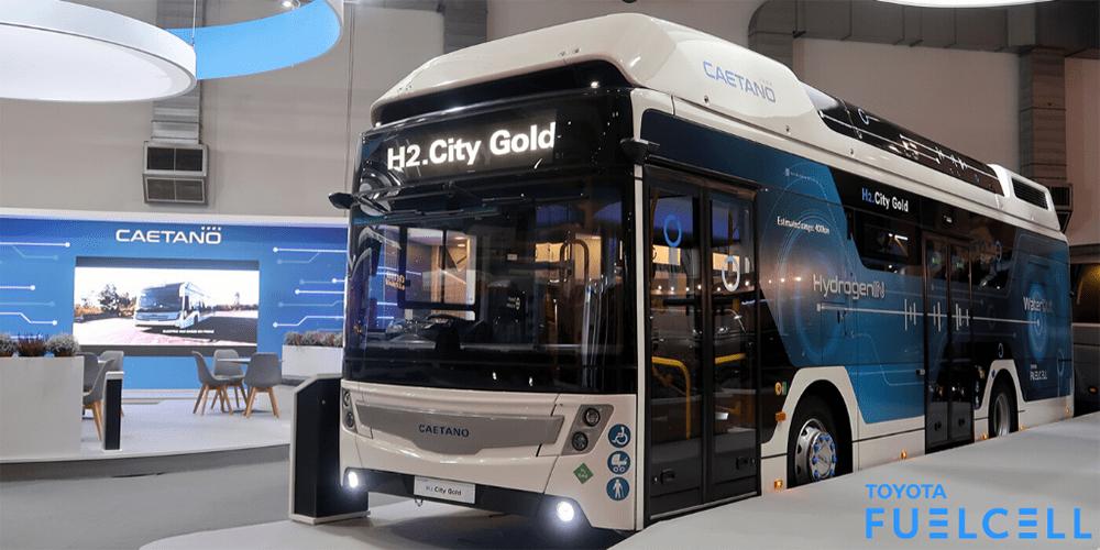Electrive.net: Barcelona bestellt acht H2-Bussee bei Caetano.
