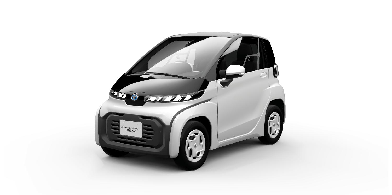 Toyota präsentiert serienreifen Elektro-Zweisitzer