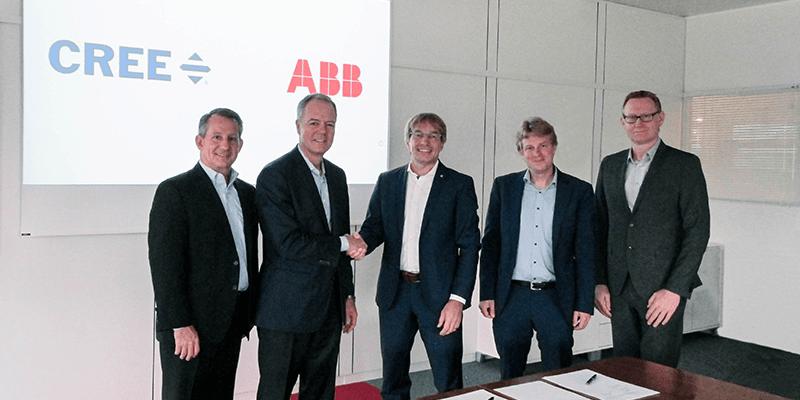 Cree kooperiert mit ABB bei Siliziumkarbid